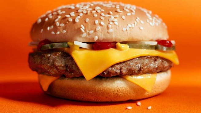 Гамбургер изМакдоналдса, uаv,ehuth bpvаrljyаklcа