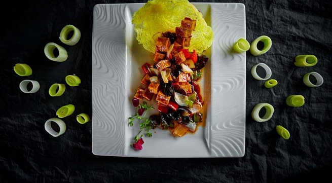 Овощи вкисло-сладком соусе, jdjob drbckj-ckаlrjv cject