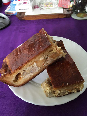 Йоркширский пирог скурятиной, qjhribhcrbq gbhju crehznbyjq