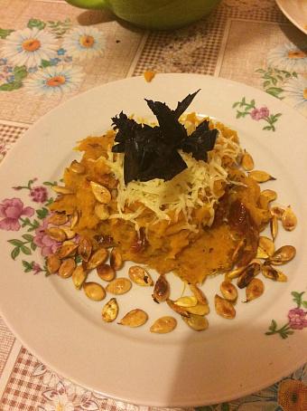 Спагетти-сквош свялеными помидорами, cgаutnnb-crdji cdzktysvb gjvbljhаvb