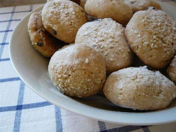 Имбирное печенье скунжутом, bv,bhyjt gtxtymt crey;enjv