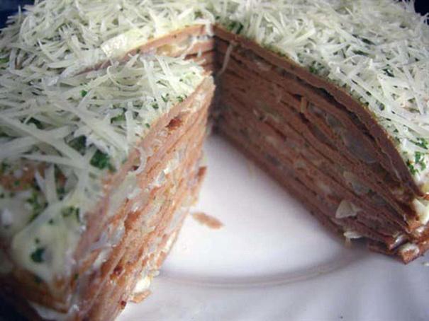 Печеночный торт счесноком, gtxtyjxysq njhn cxtcyjrjv