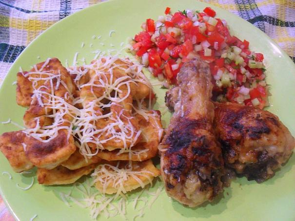 Курица скартофельным хворостом иовощами пико, rehbwа crаhnjatkmysv [djhjcnjv bjdjoаvb gbrj