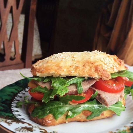 Бутерброды издомашних булочек, ,enth,hjls bpljvаiyb[ ,ekjxtr