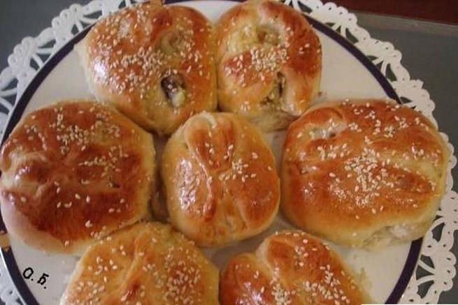 Греческие булочки скартошкой игрибами, uhtxtcrbt ,ekjxrb crаhnjirjq buhb,аvb