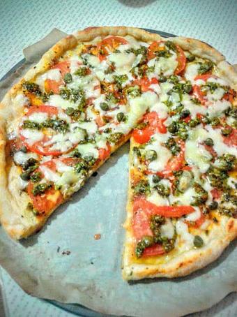 Пицца Песто, gbwwа gtcnj