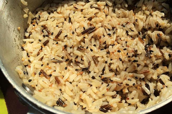 Кунжутный рис, rey;enysq hbc