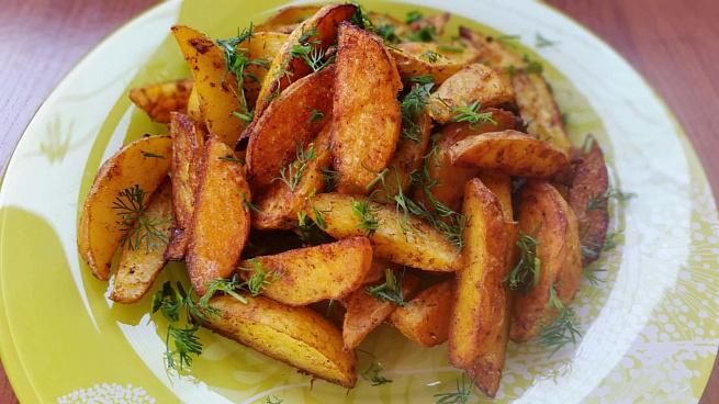 Пряный картофель по‑деревенски вдуховке, ghzysq rаhnjatkm gj‑lthtdtycrb dle[jdrt