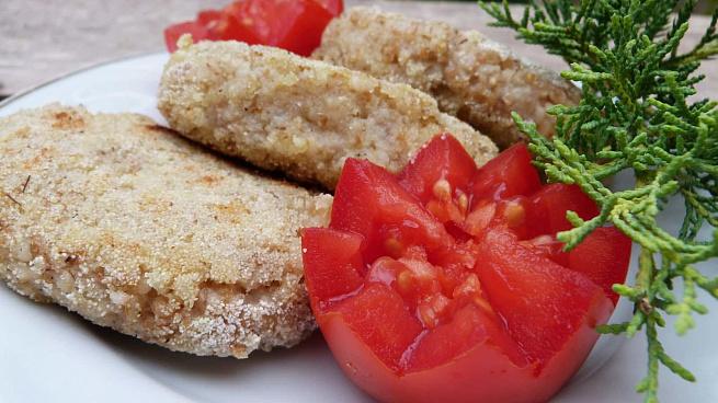 Вегетарианские пшеничные котлеты, dtutnаhbаycrbt gitybxyst rjnktns