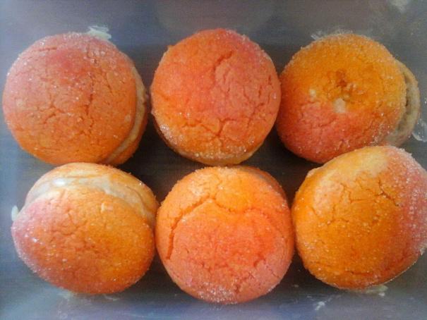 Пирожные «Персики» изсоветского детства, gbhj;yst «gthcbrb» bpcjdtncrjuj ltncndа