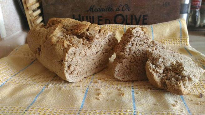Хлеб издвух злаков спахтой, [kt, bplde[ pkаrjd cgа[njq