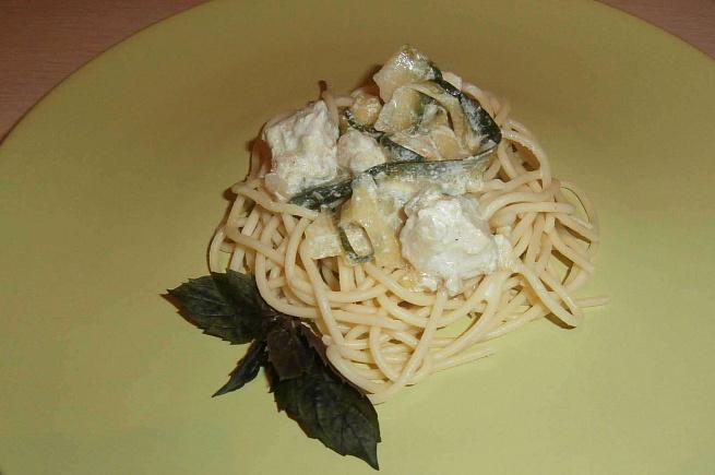 Спагетти всливочном соусе скуриным филе ицукини, cgаutnnb dckbdjxyjv cject crehbysv abkt bwerbyb