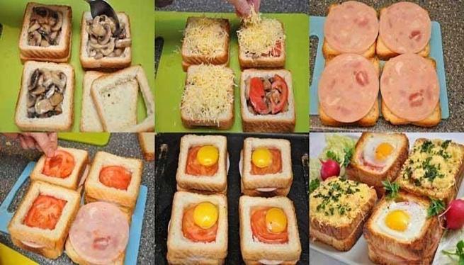 Бутерброды светчиной ияйцом кзавтраку, ,enth,hjls cdtnxbyjq bzqwjv rpаdnhаre