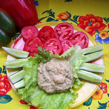Быстрый хумус изфасоли ссырыми овощами, ,scnhsq [evec bpaаcjkb ccshsvb jdjoаvb