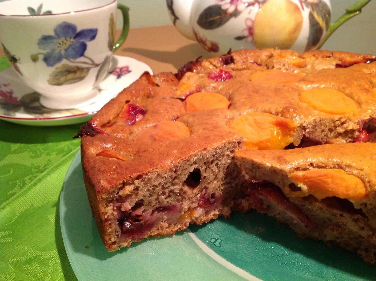 пирог со сливами рецепт простой с фото опасаетесь