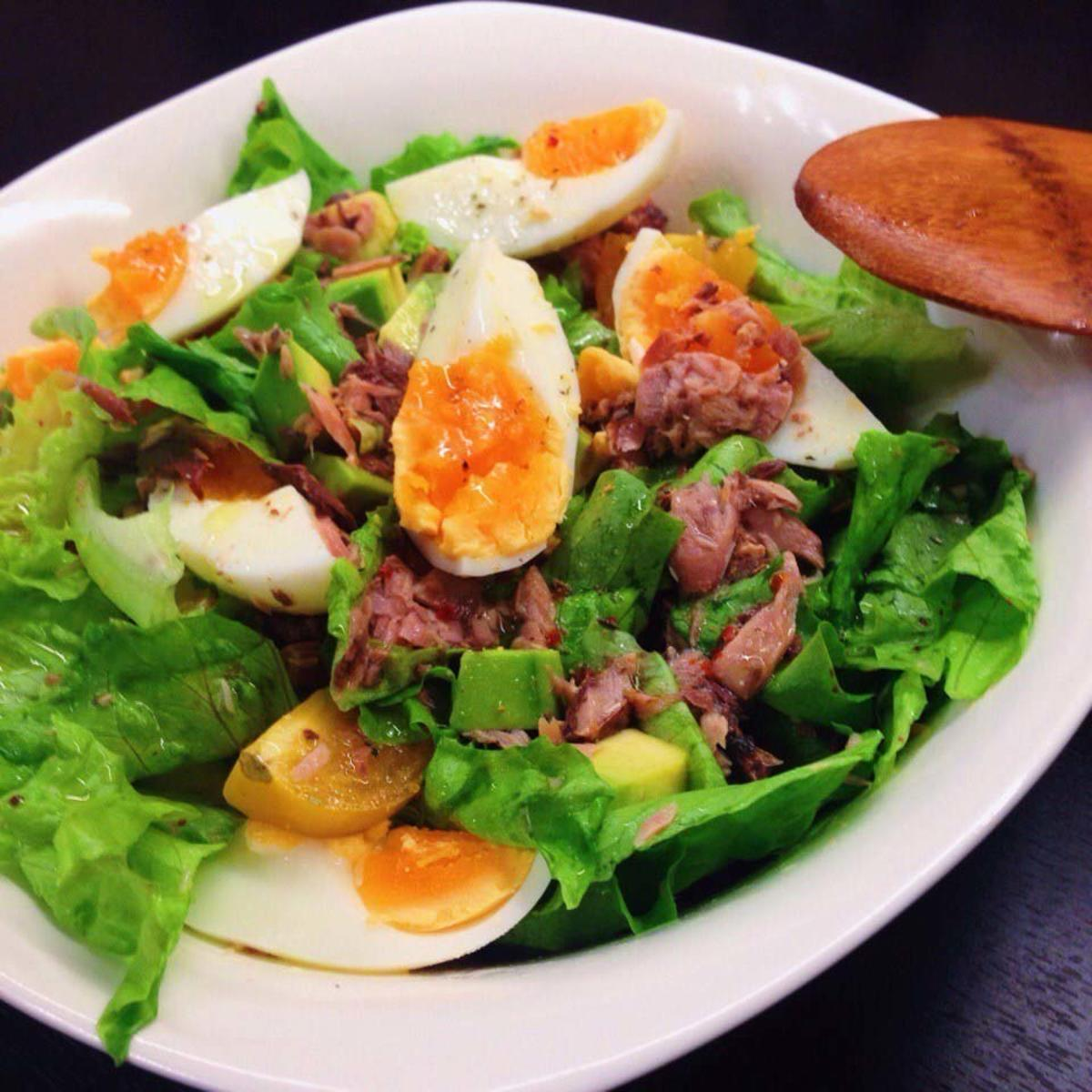 нашей салат из тунца рецепт простой с фото том