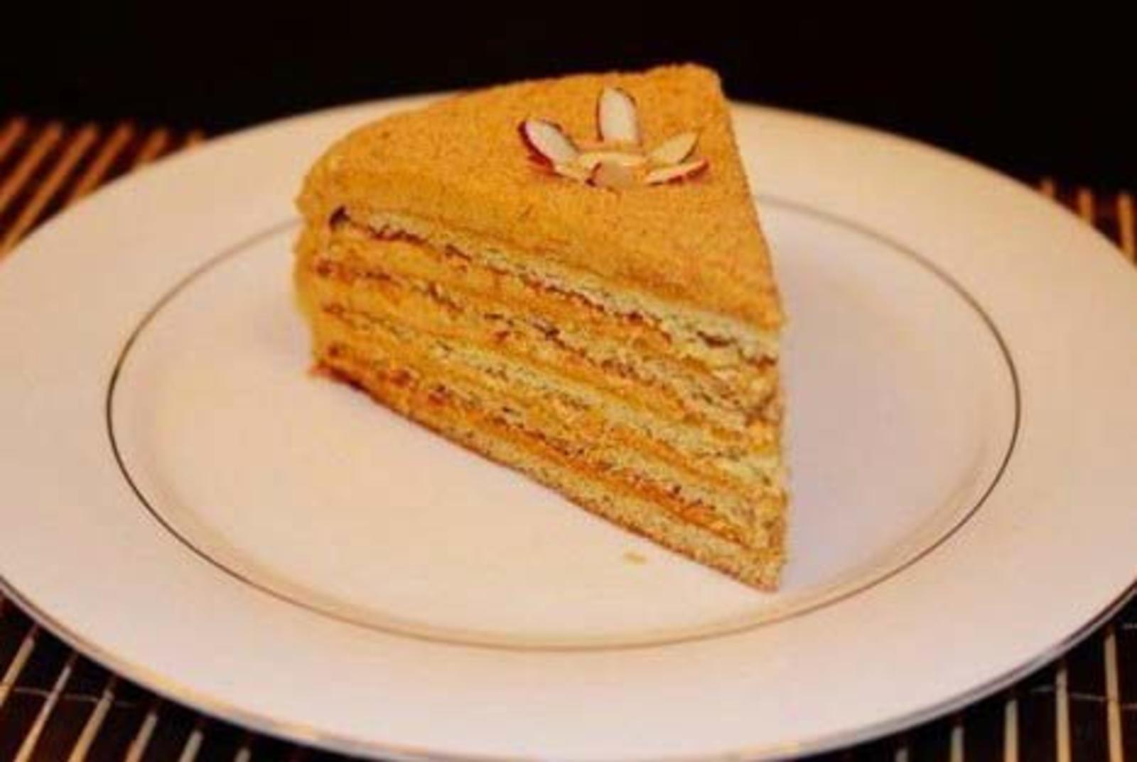 заказ медовый пирог рецепт с фото со сгущенкой умерли все