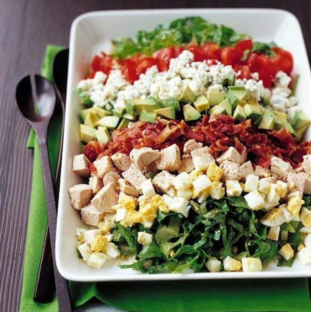 Новые легкие салаты рецепты с фото