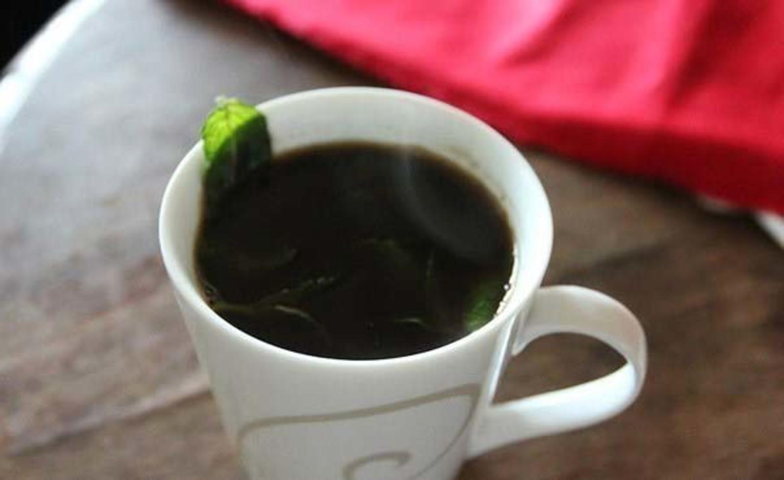 мятный кофе фото