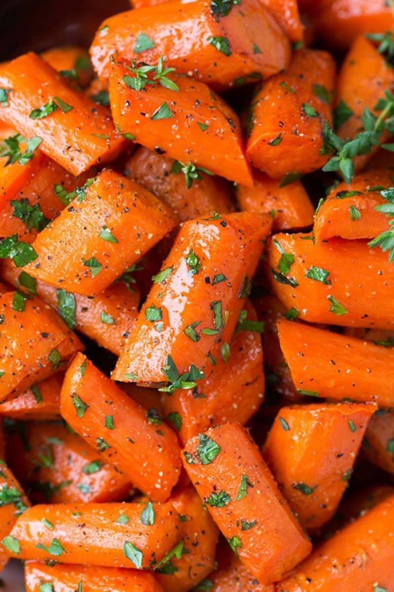 Блюда из моркови с картинками
