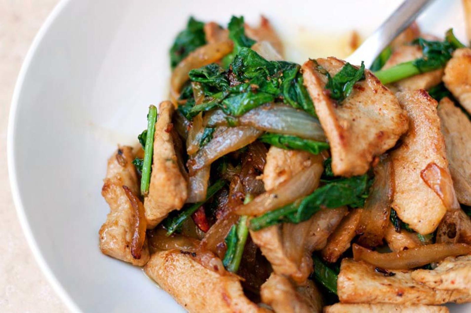 блюда из жареной свинины рецепты с фото интерьере