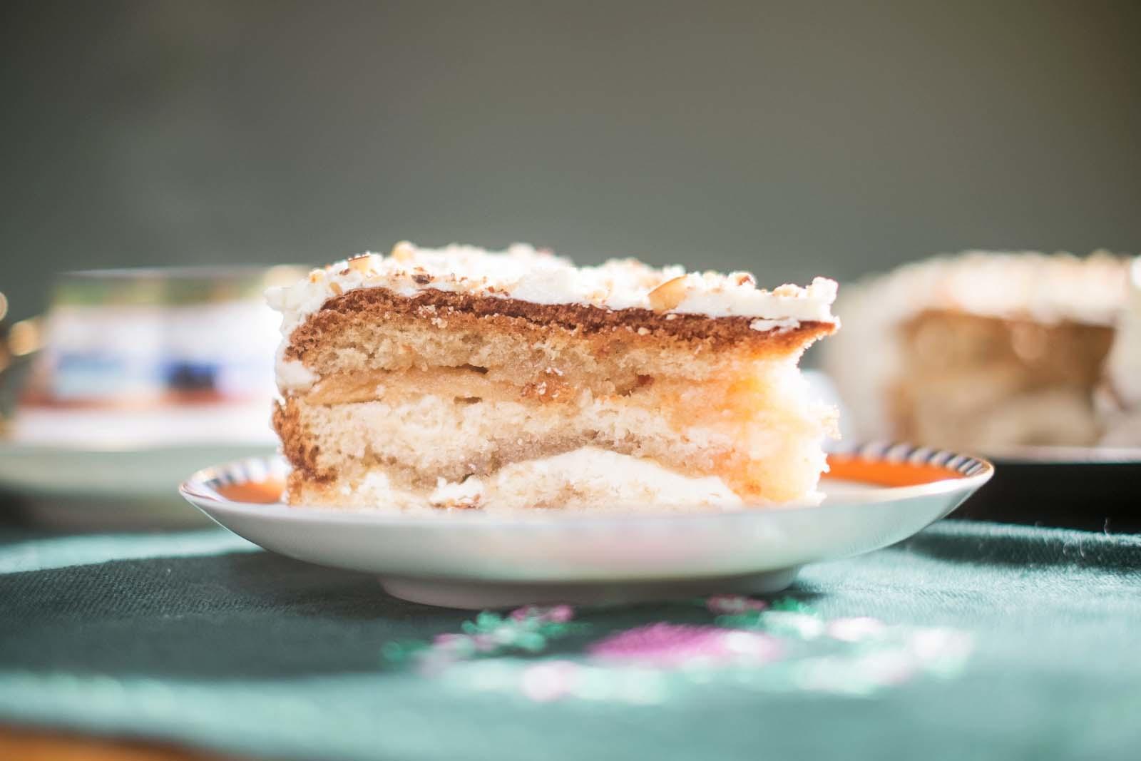 торт из пастилы рецепт с фото семья