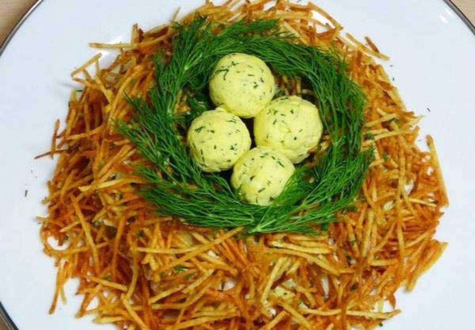 мамочка рецепт салата гнездо глухаря классический с фото вам есть что